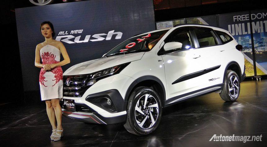 Produksi Cacat, Toyota Rush Ditarik